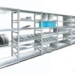 Металлические стеллажи: основные преимущества и конструктивные особенности