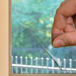 Современная защитная пленка на окна.