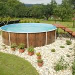 Дачный бассейн.