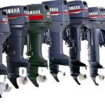 Лодочные моторы Yamaha.