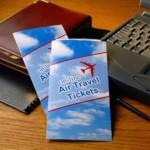 Покупка билетов на самолет в сети интернет.