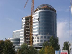 строительства бизнес-центра