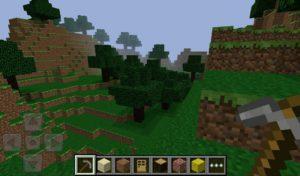 Мобильная версия Minecraft