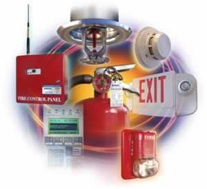 обслуживания пожарной системы