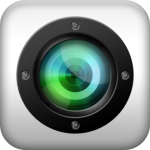 Fisheye видеокамера с широкоугольным объективом.