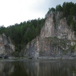 Талик в долине речки Иультианьи.