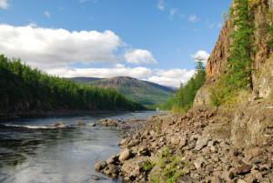 галечниковые отложения к реке Норильской