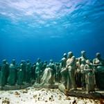 Парк подводных скульптур – такого Вы еще не видели.