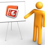 Powerpoint – подходящая программа для создания презентаций.