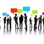 Виды общения в социальных сетях.