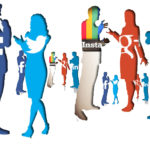 В социальных сетях я нашла новых друзей.