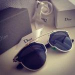 Очки Dior всегда в моде.