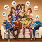 Вред социальных сетей для молодого поколения