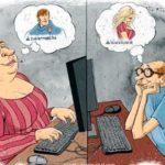 Есть ли любовь в социальных сетях?