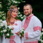 Неординарная свадьба в славянском стиле