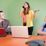 Этикет использования мобильного телефона на работе
