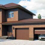 Плюсы и особенности гаража в кирпичном доме